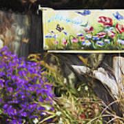 Wildlife's Mailbox Art Print