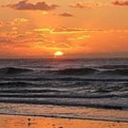 Wildwood Beach Here Comes The Sun Art Print