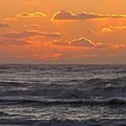 Wildwood Beach Just Before Dawn Art Print