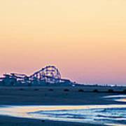 Wildwood Beach Panorama Art Print