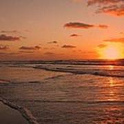 Wildwood Beach Sunrise II Art Print