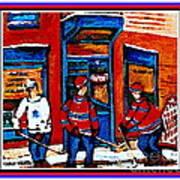 Wilenskys Hockey Art Posters Prints Cards Originals Commission Montreal Paintings Contact C Spandau Art Print