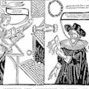 William Abell (c1584-1655) Art Print