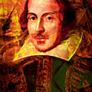William Shakespeare 20140122 Art Print