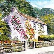 William WordsWorth Cottage Lake District Art Print by Debbie Fisher