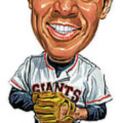 Willie Mays Art Print by Art