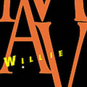 Willie Mays Art Print