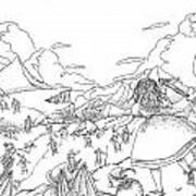 Willima Tell Freedom Fighter Art Print