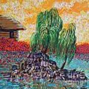 Willow Tree Isle Art Print