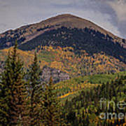 Wilson Peak Colorado Art Print