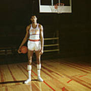 Wilt Chamberlain Stands Tall Art Print by Retro Images Archive