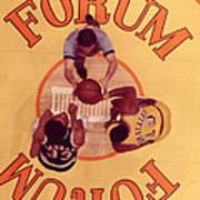 Wilt Chamberlain Vs. Kareem Abdul Jabbar Art Print by Retro Images Archive