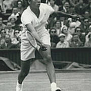 Wimbledon Championships - Second Day..., Althea Gibson In Art Print