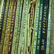 Winchester Catalogs Art Print