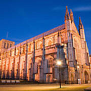 Winchester Cathedral Art Print