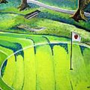 Winchester Country Club II Art Print