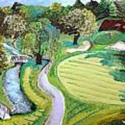 Winchester Country Club IIi Art Print