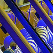 Wind Abstract No2 Horz Art Print