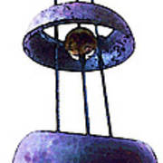 Wind Chime 8 Art Print by Sharon Cummings