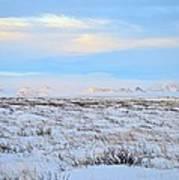Wind Swept Plains Of Iceland Art Print