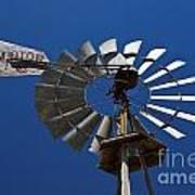 Windmill Aermotor Company Art Print