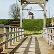 Windmill Bridge Art Print