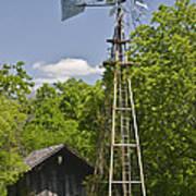 Windmill - Cedar Hill State Park Art Print