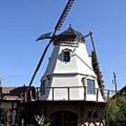 Windmill In Solvang Art Print