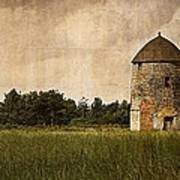 Windmill Art Print by Lesley Rigg