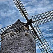 Windmill Of La Mancha Art Print