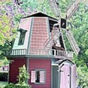 Windmill - Photopower 1555 Art Print