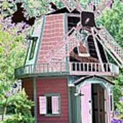 Windmill - Photopower 1556 Art Print