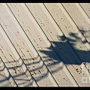 Windmill Shadows Art Print
