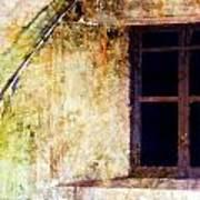 Window - Water Color - Fort Art Print