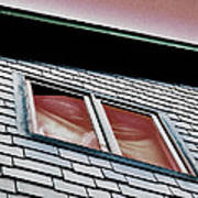 Window Above Art Print by Stephanie Grooms