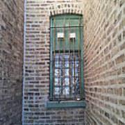 Window Against The Wall Art Print