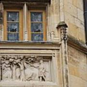 Window And Relief Palace Ducal Art Print
