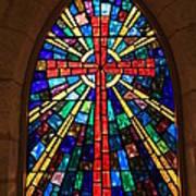 Window At The Little Church In La Villita Art Print