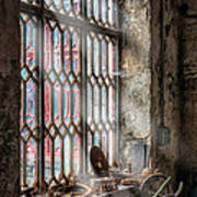 Window Decay Print by Adrian Evans