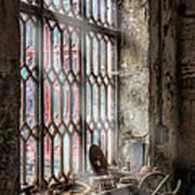 Window Decay Art Print