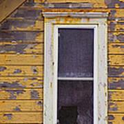 Window In Abandoned House Art Print by Jill Battaglia