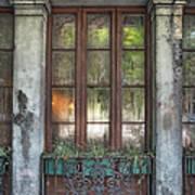 Window In The Quarter Art Print
