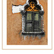 Window In Verona Poster Art Print