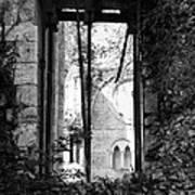 Window Of Haunted Abbey Art Print
