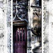 Window Of Renaissance Paris France Art Print