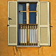 Window Of Rome II Art Print