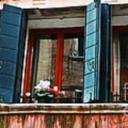 Window Of Venice Art Print