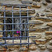 Window Of Vernazza Italy Dsc02629 Art Print