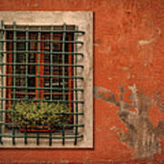 Window Of Vernazza Italy Dsc02633 Art Print