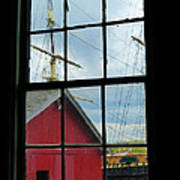 Window On History Art Print